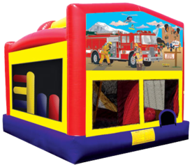 Fireman Bounce House