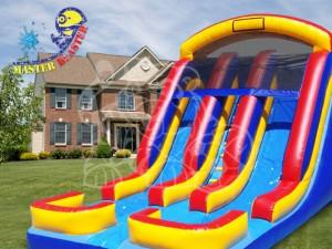 dual lane water slide rental niceville - Water Slide Bounce House