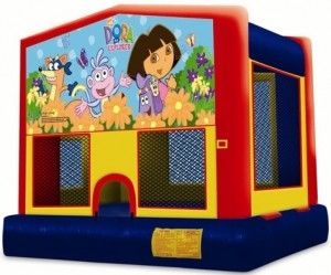 Dora Bouncy Castle Rental