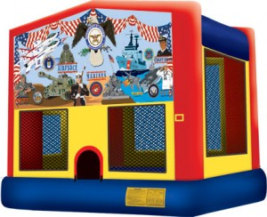 Armed Forces Bounce House Rental