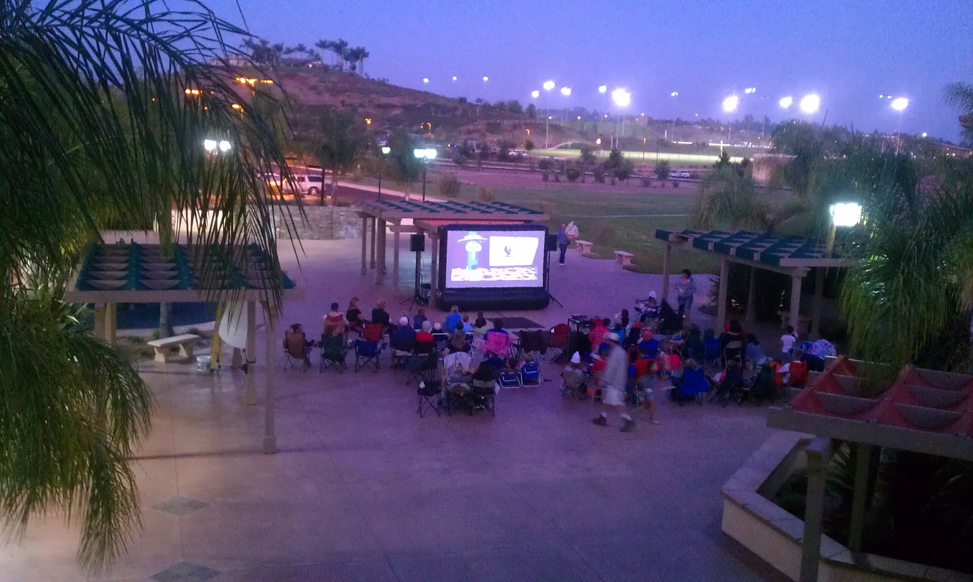 Outdoor Movie Screen Rentals