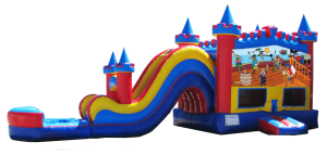 Pirate Water Slide Rental
