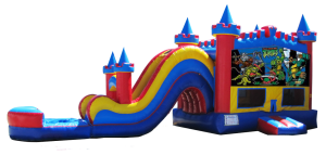 Niceville inflatable water slides