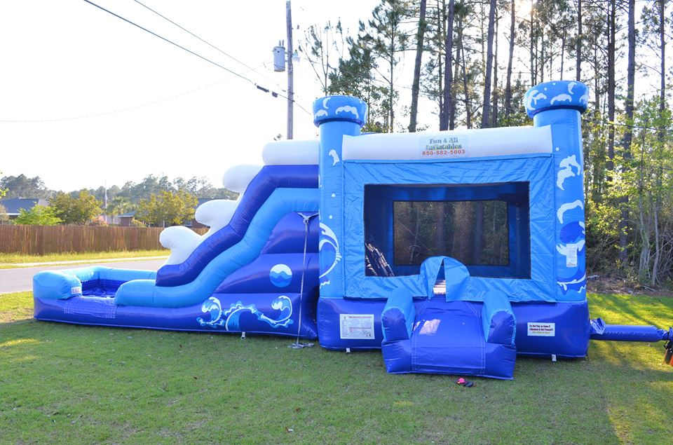 inflatable waterslide rental 32547